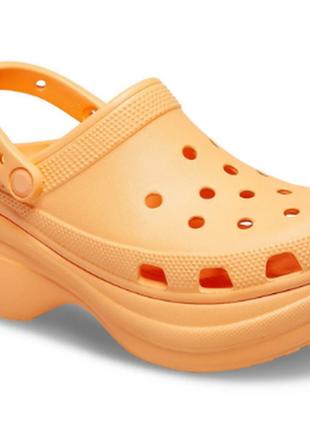 Женские кроксы сабо  women's crocs classic bae clog cantaloupe