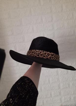 Шляпа чёрная карнавал