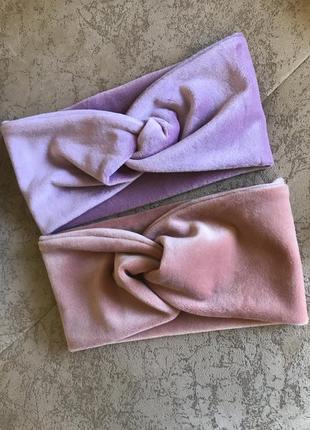 Дитячі повязки / повязочки на голову для дівчинки / чалма