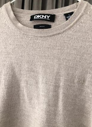 Джемпер свитер dkny оригинал! 100% шерсть мериноса