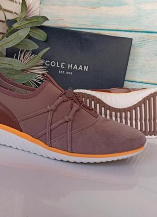 Новые замшевые сникерсы кроссовки cole haan