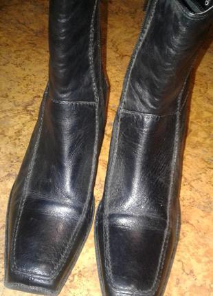 Ботинки clarks, кожа