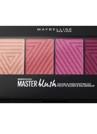 Палетка румян maybelline master blush
