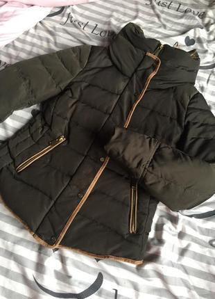 Куртка пуховик бомбер