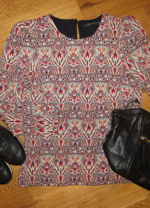 Блузка zara, свитер, светер, кофта