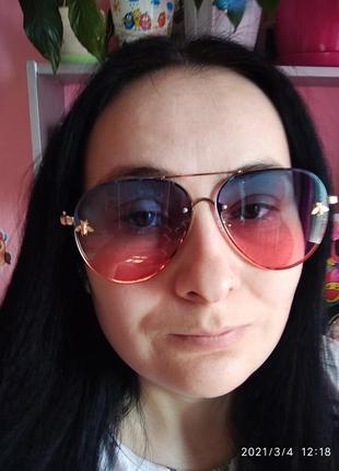 Яркие градиентные 🖤 очки exclusive