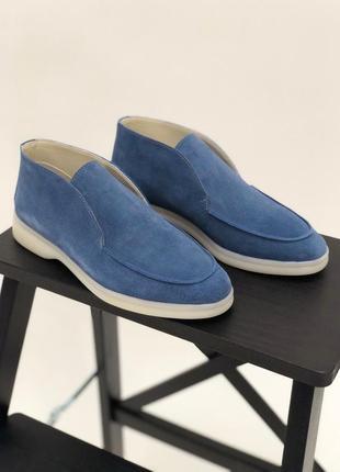 Трендовые ботинки лоферы