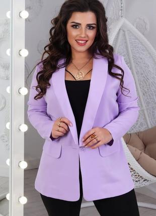 Яркий и стильный пиджак жакет на весну, 42-56