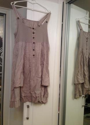 Стильное и качественное платье сарафан, идеально для беременной