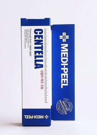 Крем для лица с центеллой medi-peel centella mezzo cream 30 мл