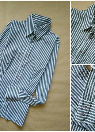 Крутая рубашка в полоску montego.