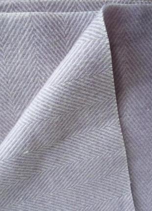 Пальтовая ткань. ёлка - сирень.