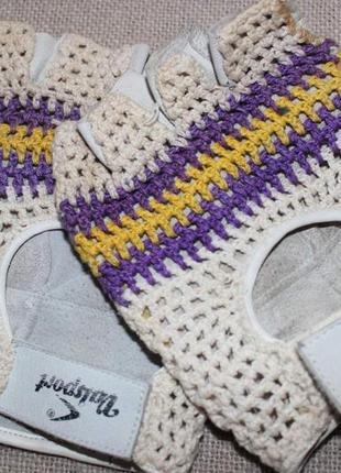 Перчатки без пальцев.винтаж