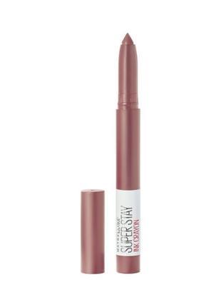 Помада-карандаш для губ maybelline new york super stay ink crayon
