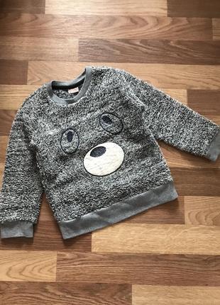 Тепленька кофточка реглан светр