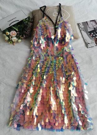 Дуже крута, яскрава сукня little pretty thing в паєтки