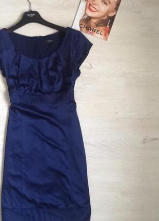 Платье темно синее!