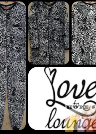 Кигуруми,слип пижама,футужама ,спальный комбинезон леоардовый 42/508 фото