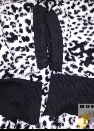 Кигуруми,слип пижама,футужама ,спальный комбинезон леоардовый 42/507 фото