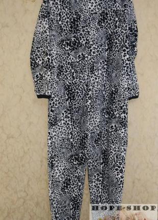 Кигуруми,слип пижама,футужама ,спальный комбинезон леоардовый 42/506 фото