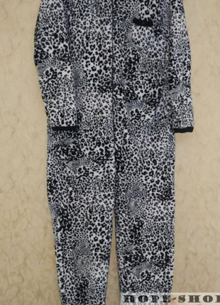 Кигуруми,слип пижама,футужама ,спальный комбинезон леоардовый 42/502 фото