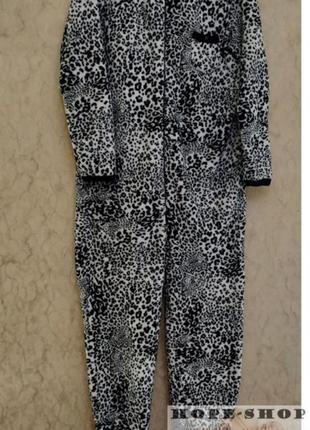 Кигуруми,слип пижама,футужама ,спальный комбинезон леоардовый 42/50