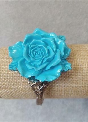 Браслет роза полимерная