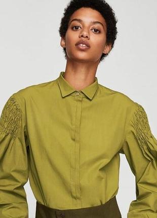 Очень красивая рубашка mango