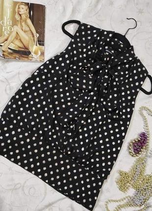 Karen millen нарядная блуза с бантом uk 12