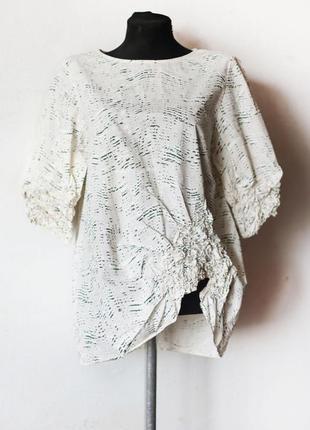 Блуза cos с удивительным кроем