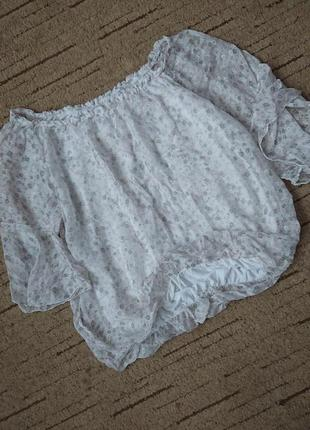 Чудесная шелковая блуза (италия) на вискозной подкладке #100%шелк#