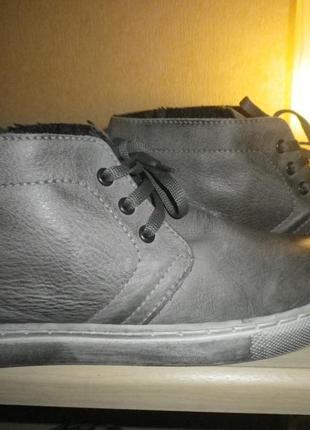 Ботинки кеды кожа италия
