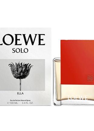 Супер подарок на 8 марта парфюмированная вода loewe solo ella 100мл