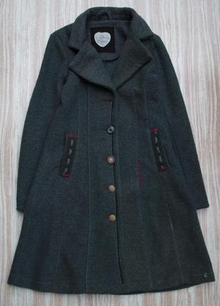 Стильное пальто кардиган в стиле печворк №89