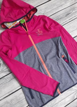 Crane,cпортивна функціональна (кофта) куртка дівчинці 146/152