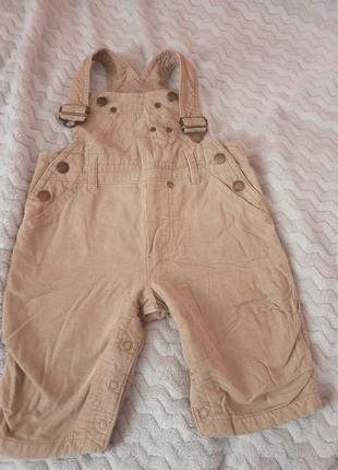 Комбинезон, штани вельвети h&m 62
