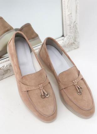 Жіночі лофери,туфлі.італійська замша. вибір кольорів
