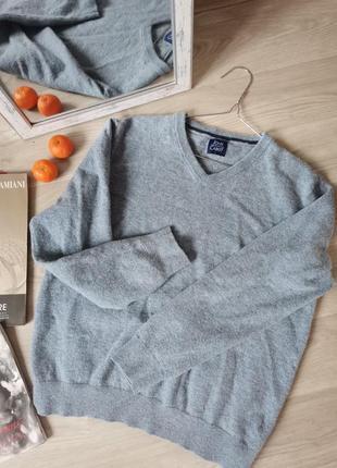Шикарный пуловер унисекс от john cabot