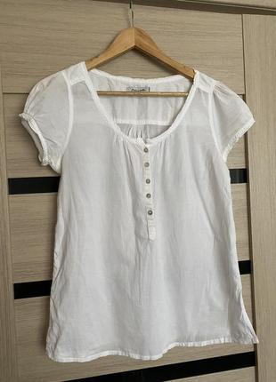 Блуза рубашка colins с коротким рукавом