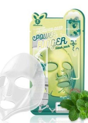 Восстанавливающая маска для лица с центеллой азиатской elizavecca, корея