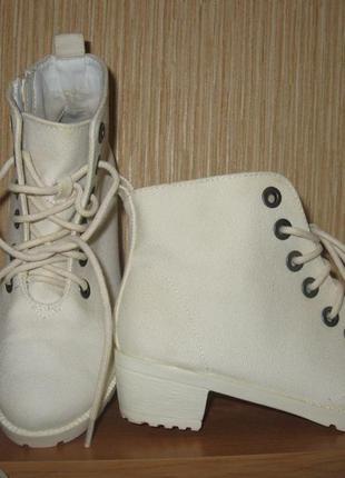 Ботиночки текстиль от h&m