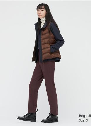 Женские зимние брюки heattech с флисовой подкладкой uniqlo !!!