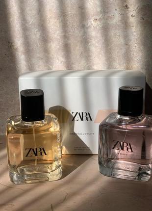 Духи zara fruity/zara oriental/жіночі парфуми /туалетна вода