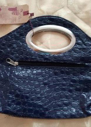 Нова шкіряна сумочка - клатч ,куплена в турції . буде гарним доповненням до вашого образу.