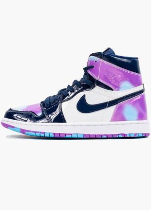 Nike air jordan retro 1 high violet