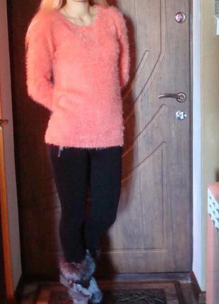 Кофта свитер травка
