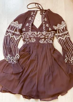 Плаття з бісером від asos
