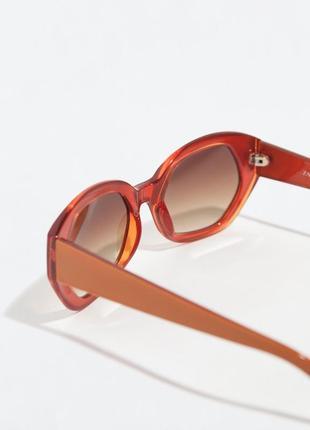 Женские солнцезащитные очки zara оригинал5 фото