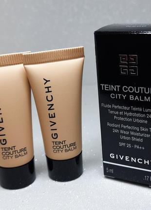 Givenchy teint couture city balm spf25 тональная основа