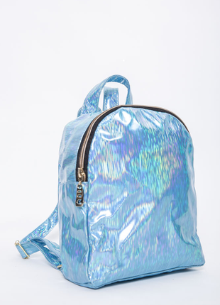 Компактный рюкзак голубого цвета женский 154r003-26-3